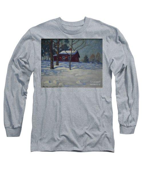 Winter House Long Sleeve T-Shirt