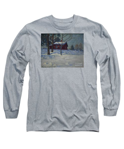 Winter House Long Sleeve T-Shirt