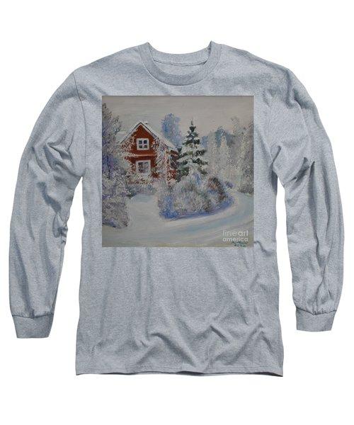 Winter In Finland Long Sleeve T-Shirt