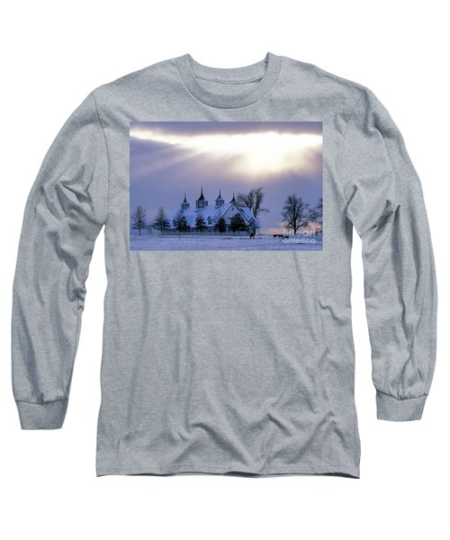 Winter In The Bluegrass - Fs000286 Long Sleeve T-Shirt