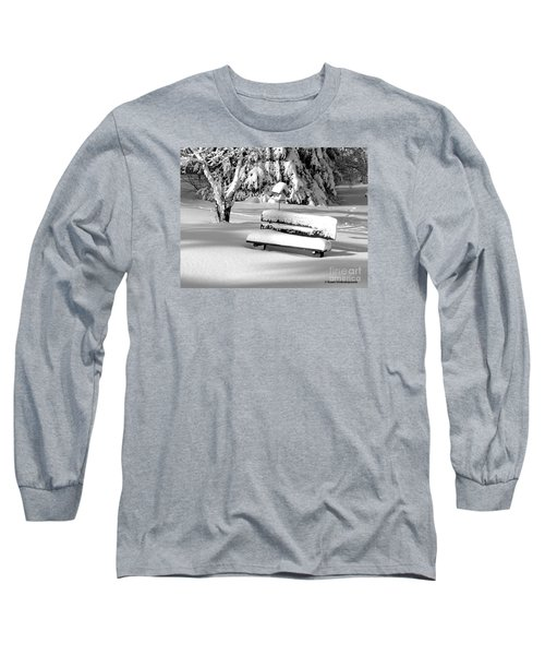 Winter Morning Long Sleeve T-Shirt by Susan  Dimitrakopoulos