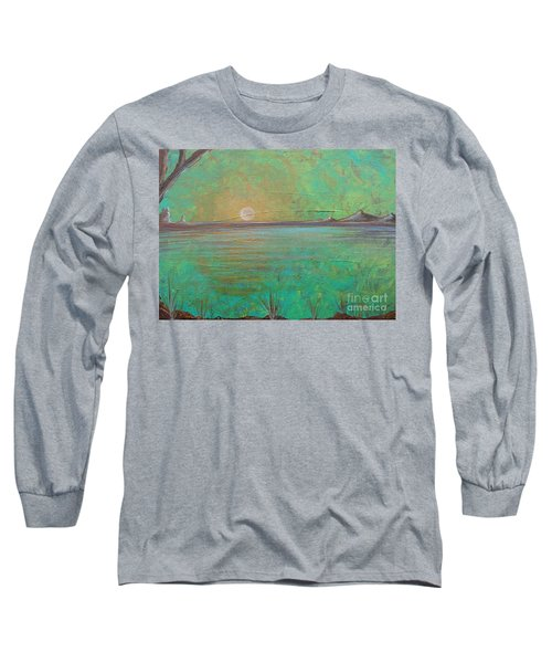 Winter Solitude 7 Long Sleeve T-Shirt by Jacqueline Athmann