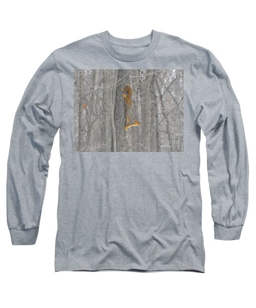 Winter Squirrel Long Sleeve T-Shirt