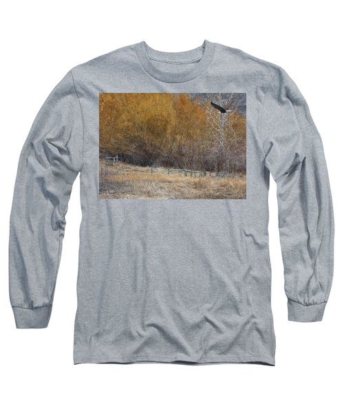 Winter Thaw Long Sleeve T-Shirt by Ed Hall