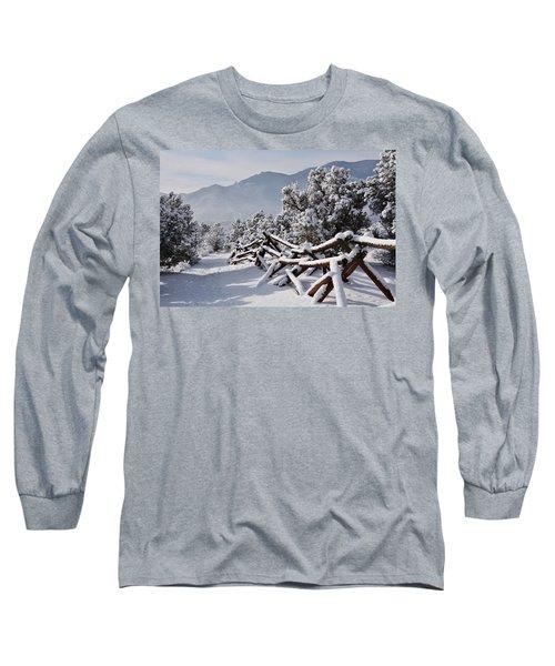 Winter Trail Beckons Long Sleeve T-Shirt