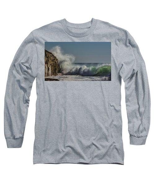 Winter Waves Long Sleeve T-Shirt