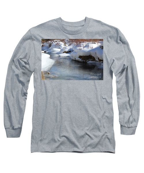 Winter's Blanket Long Sleeve T-Shirt by Fiona Kennard