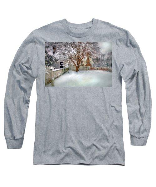 Wintry Garden Long Sleeve T-Shirt