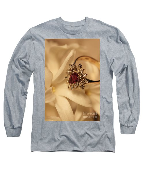 Long Sleeve T-Shirt featuring the photograph With Love by Joy Watson