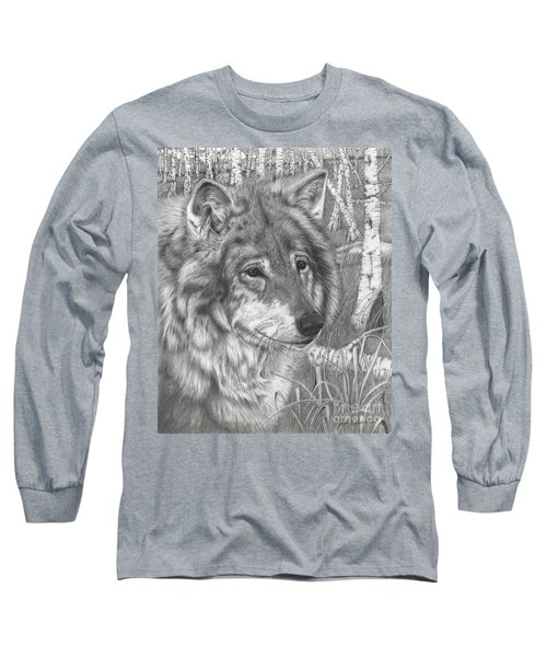 Wolf Gaze Long Sleeve T-Shirt