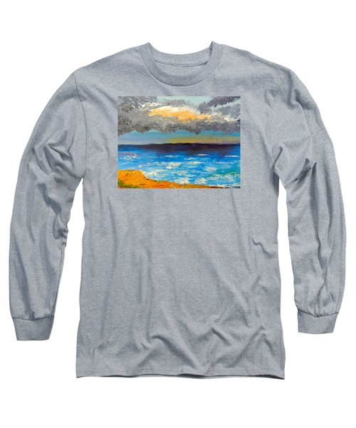 Wollongong Beach Long Sleeve T-Shirt