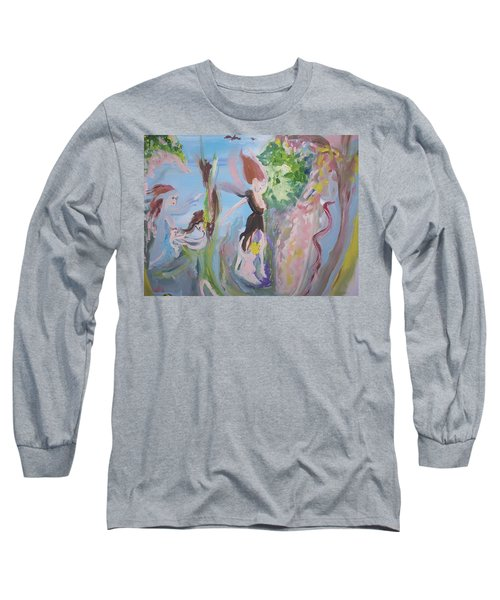 Woman The Nurturer Long Sleeve T-Shirt
