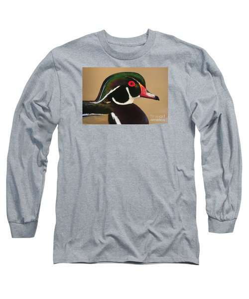 Wood Duck Color Long Sleeve T-Shirt