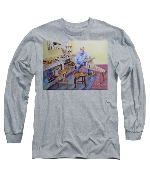Woodworker Chair Maker Long Sleeve T-Shirt