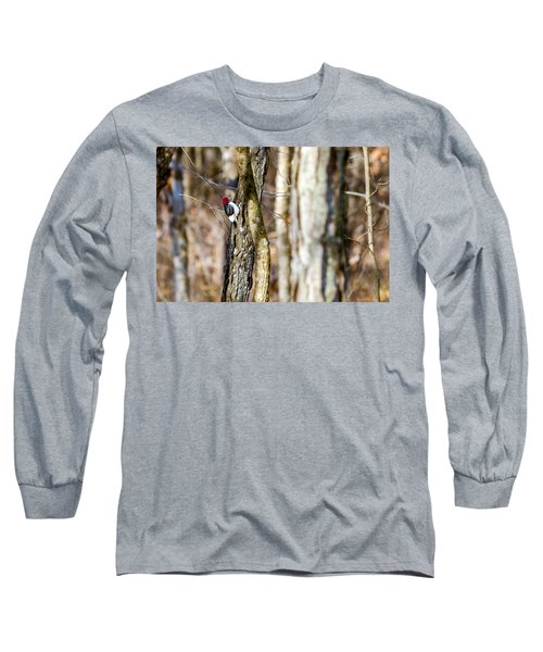 Long Sleeve T-Shirt featuring the photograph Woody by Sennie Pierson