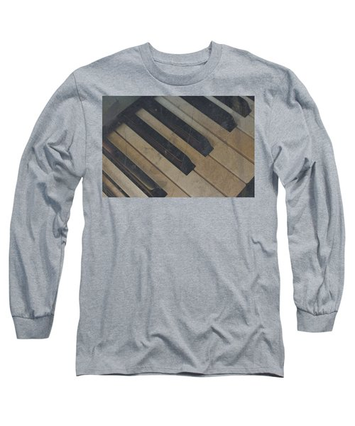 Worn Out Keys Long Sleeve T-Shirt by Photographic Arts And Design Studio