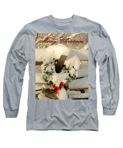 Long Sleeve T-Shirt featuring the photograph Wreath  by Alana Ranney