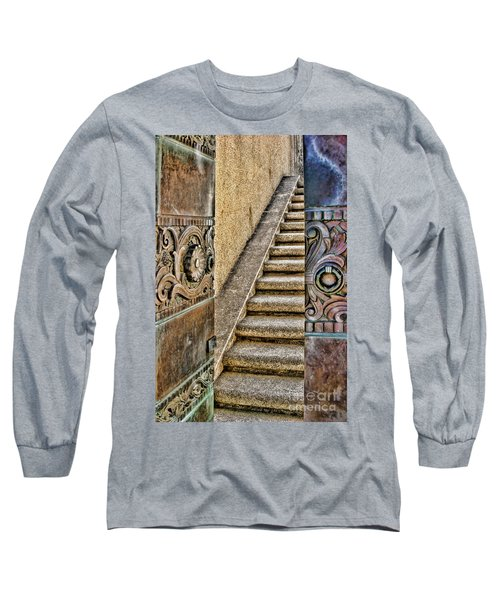 Wrigley's Bronze Doors By Diana Sainz Long Sleeve T-Shirt