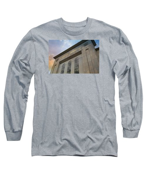 Yankee Stadium Long Sleeve T-Shirt by Stephen Stookey