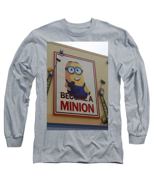 Year Of The Minions Long Sleeve T-Shirt by David Nicholls