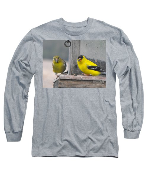Yellow Birds Long Sleeve T-Shirt