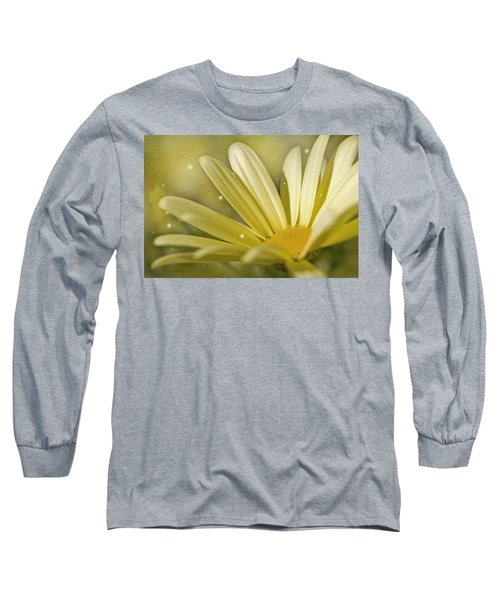 Long Sleeve T-Shirt featuring the photograph Yellow Daisy by Ann Lauwers
