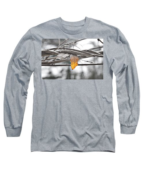 Yellow Leaf Long Sleeve T-Shirt