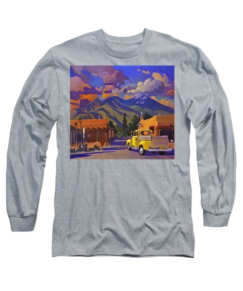 Yellow Truck Long Sleeve T-Shirt