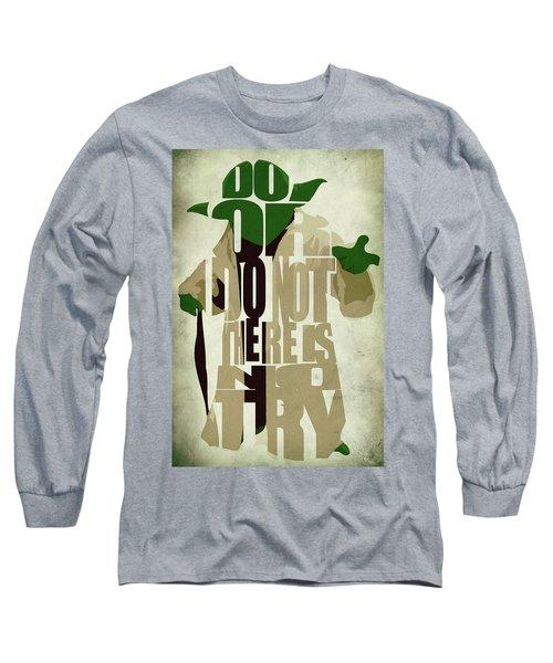 Yoda - Star Wars Long Sleeve T-Shirt by Ayse Deniz