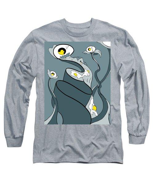 Yoked Long Sleeve T-Shirt