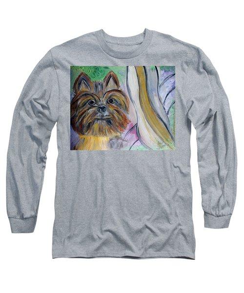 Yorki Heaven Long Sleeve T-Shirt