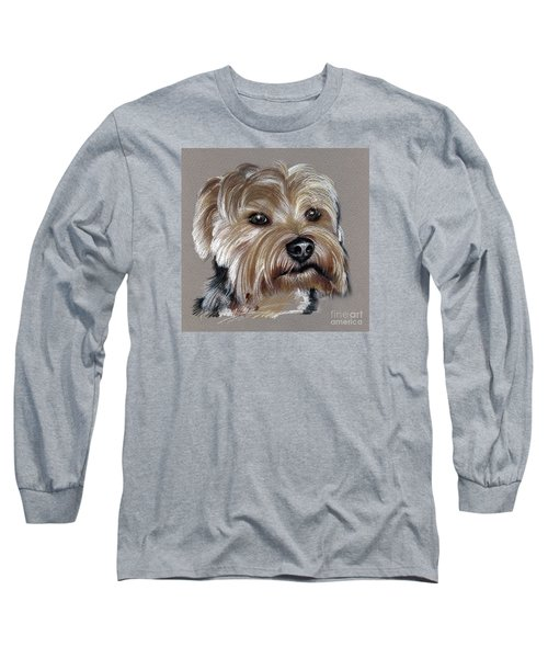 Yorkshire Terrier- Drawing Long Sleeve T-Shirt