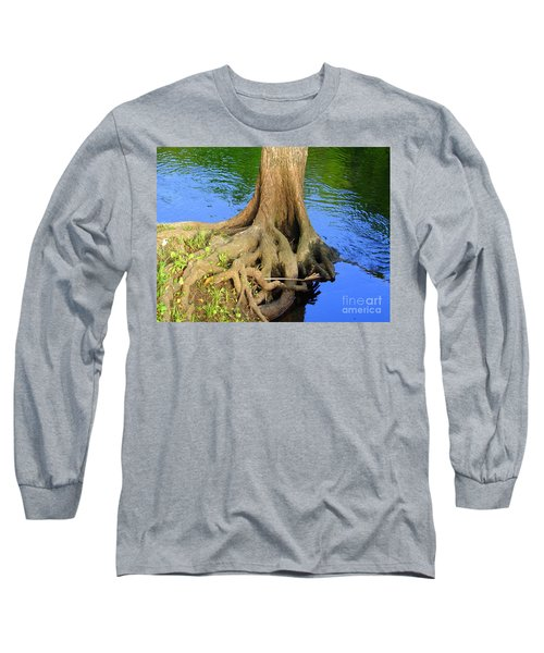 Long Sleeve T-Shirt featuring the photograph You Can Bank On It by Lew Davis