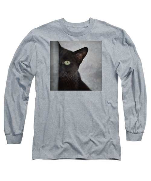 You Can't See Me Long Sleeve T-Shirt by Diane Alexander