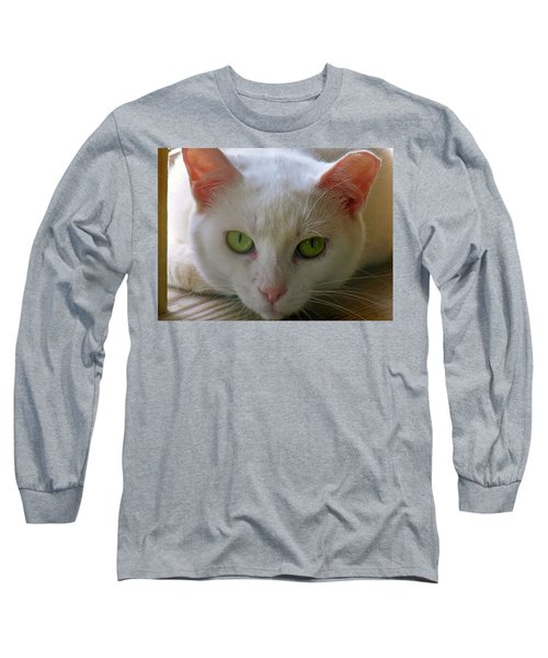 Long Sleeve T-Shirt featuring the photograph You Lookin At Me by Sherman Perry