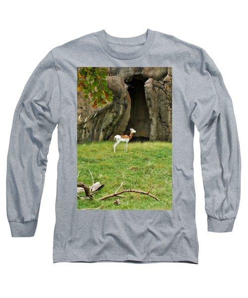 Young Addra Gazelle Long Sleeve T-Shirt