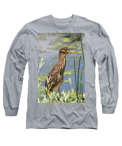 Young Heron Long Sleeve T-Shirt