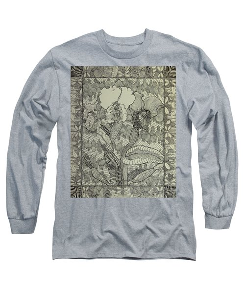 Zen Orchids Long Sleeve T-Shirt