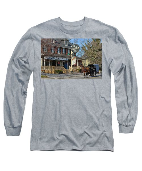 Zimmerman's Store Intercourse Pennsylvania Long Sleeve T-Shirt