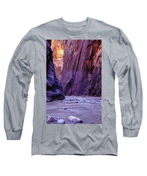 Zion Narrows Long Sleeve T-Shirt