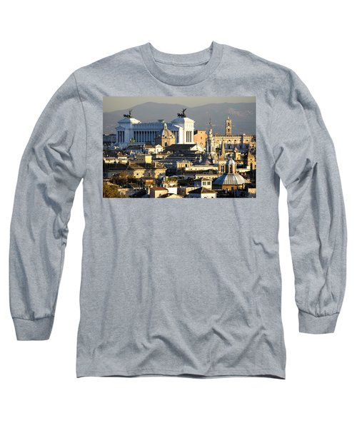 Rome's Rooftops Long Sleeve T-Shirt