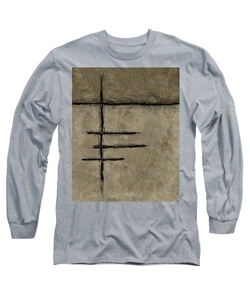 0292 Abstract Thought Long Sleeve T-Shirt