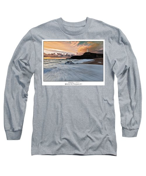 Llanddwyn Island Lighthouse Long Sleeve T-Shirt