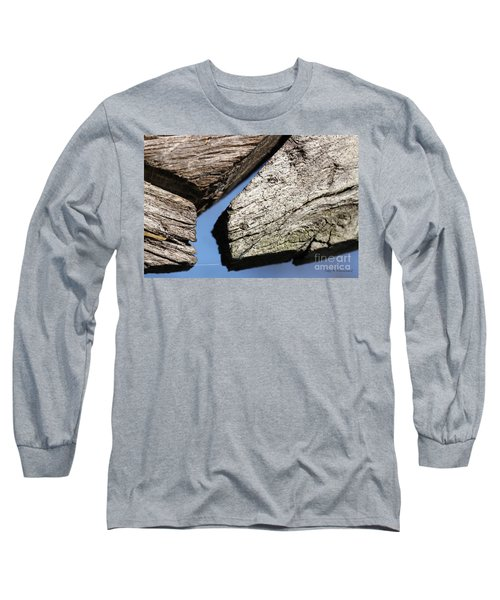 Abstract With Angles Long Sleeve T-Shirt