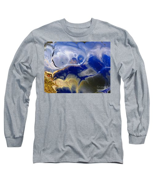 Blue Skies Long Sleeve T-Shirt by Donna Bentley