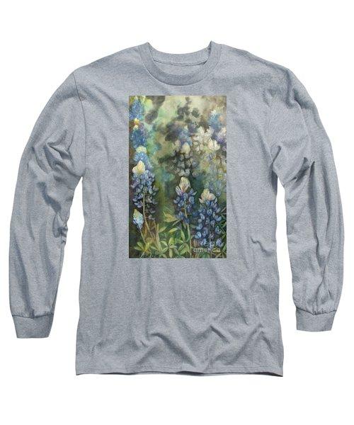 Bluebonnet Blessing Long Sleeve T-Shirt