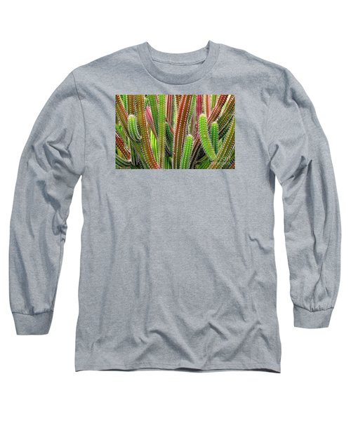 Cactus Long Sleeve T-Shirt by Ranjini Kandasamy