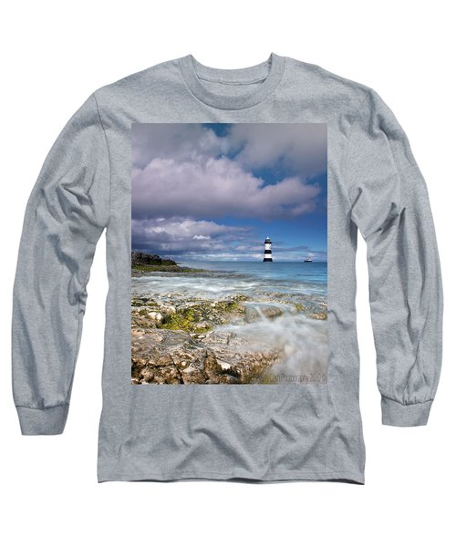 Fishing By The Lighthouse Long Sleeve T-Shirt