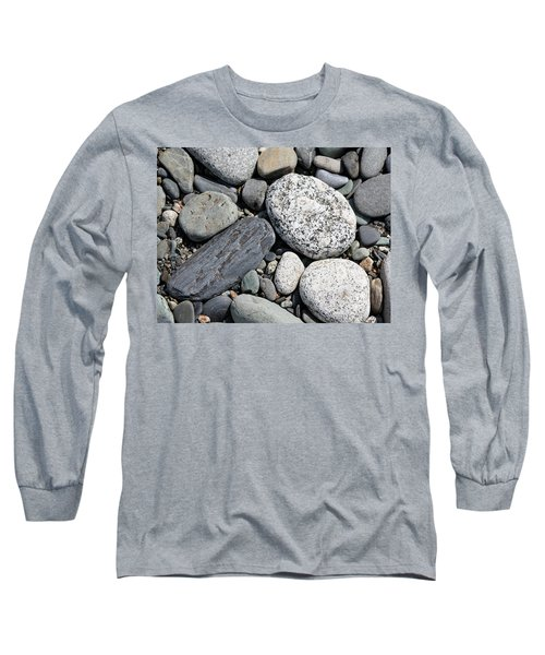 Healing Stones Long Sleeve T-Shirt by Cathie Douglas