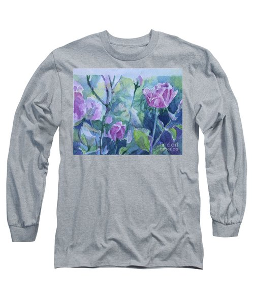How Did The Rose Long Sleeve T-Shirt by Jan Bennicoff